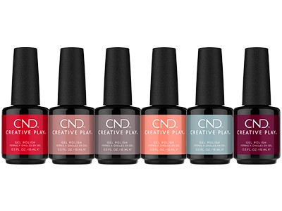 CND Creative Play Gel Polish Collections