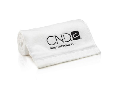 CND Hand Towel, white*