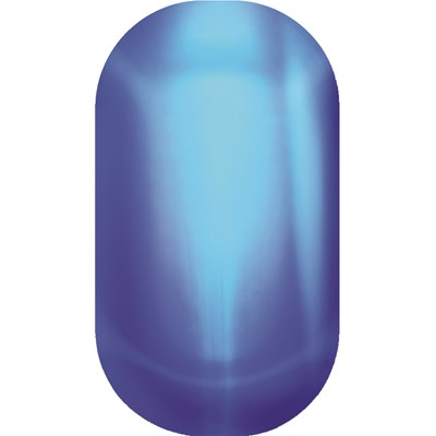 Blue Metallic Lightening Color Minx*