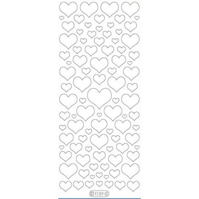 Template Hearts, Nail Art
