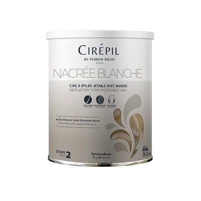 Strip Wax Nacrée blanche,
