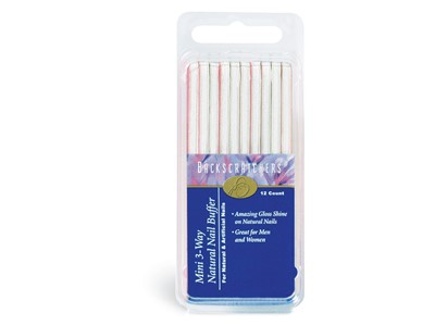 3-Way Natural Nail Buffer, Mini