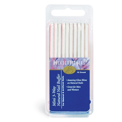 3-Way Natural Nail Buffer, Mini*