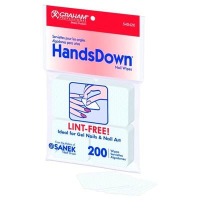 Nail Wipes Lint Free, Handsdown Graham
