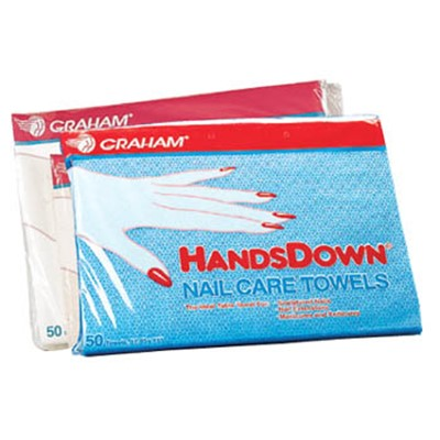 Handsdown Nail Care Towels, GRAHAM