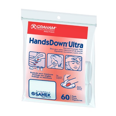 Handsdown Ultra Pads, Polyback, GRAHAM