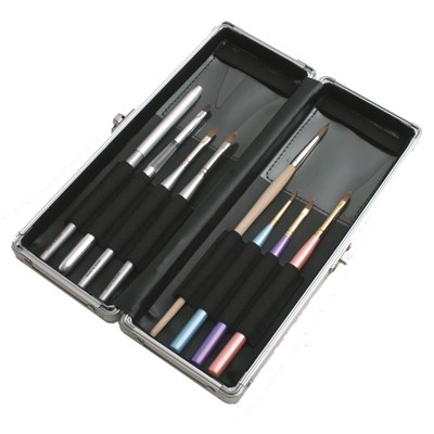 Brush Case Black for 8 brushes