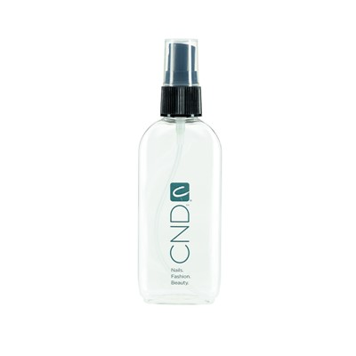 Spray bottle, Clear w. pump, CND logo