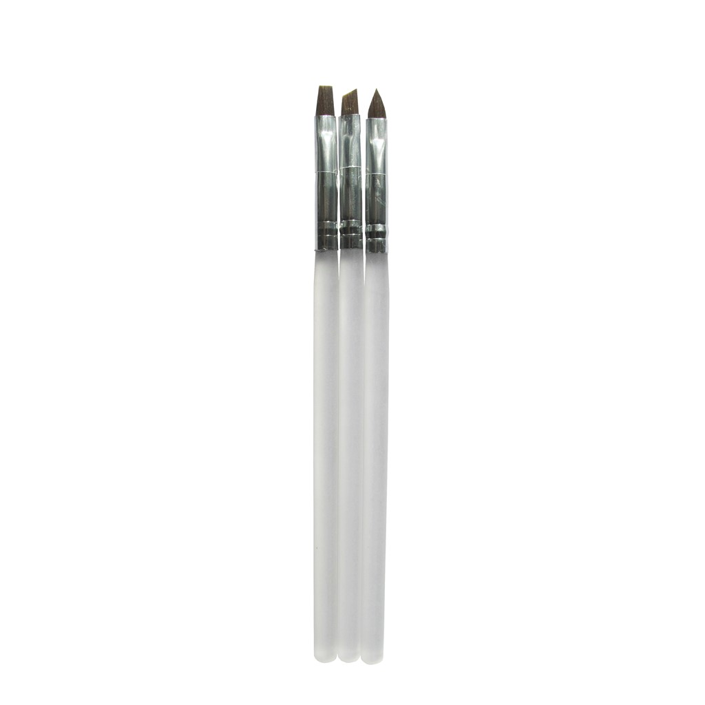 Gel Brush Set, 3 pcs**