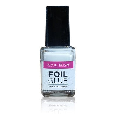 Foil Glue Nail Art NEW