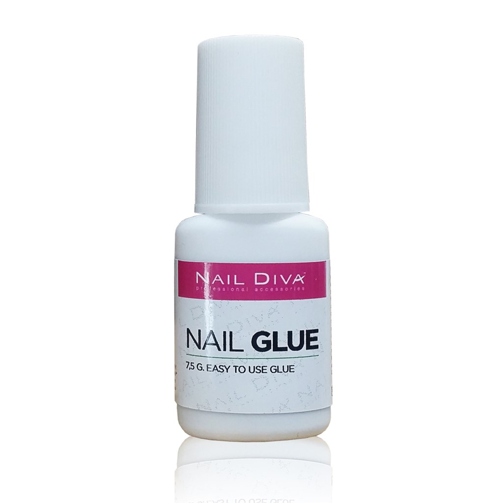 Glue Nail & Tip, Brush On, thin & easy