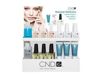 Natural Nail Care Display