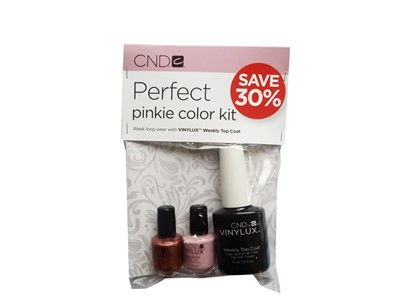 Weekly Top Coat Pinkie Color Kit