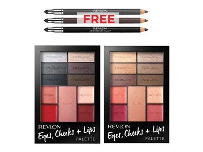 Revlon All-in-One Palette w. free Liner