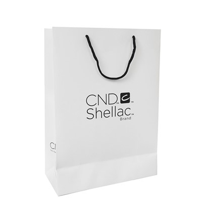Paper Bag, CND, White, Large New