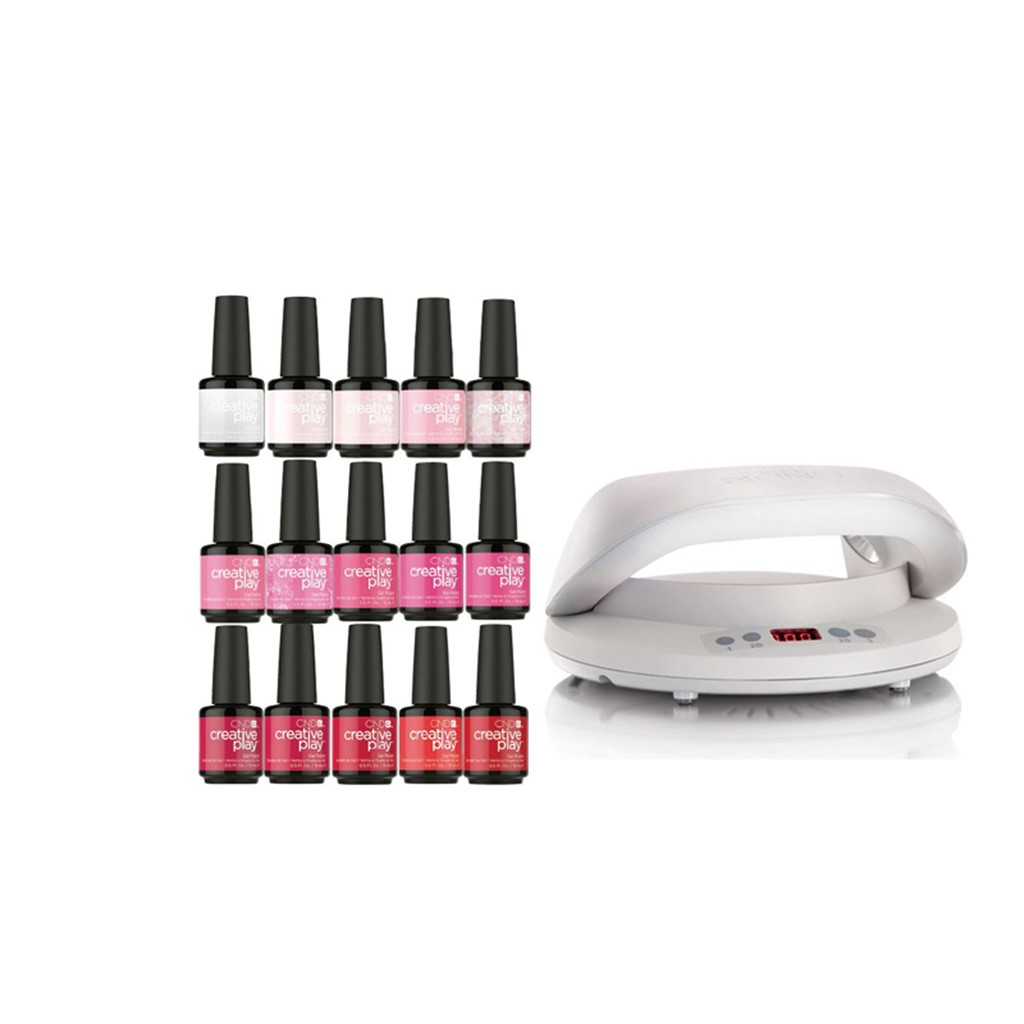 Gel Polish Salon Starter Kit, 15 Colors