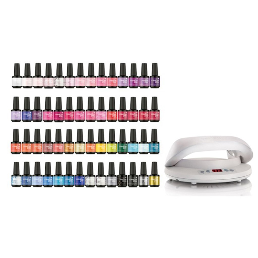 Gel Polish Salon Starter Kit, 54 Colors