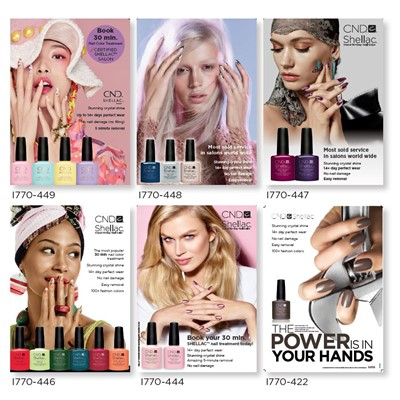 CND Posters Refresh your salon