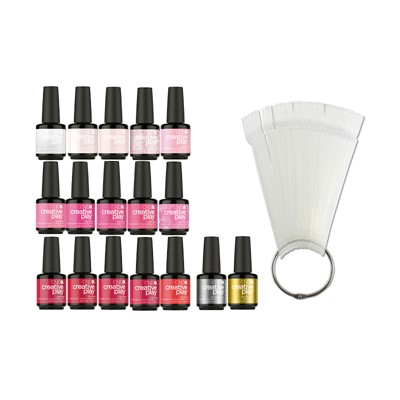 Gel Polish CPG Color Kit, 15 Colors