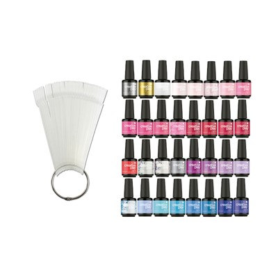 Gel Polish CPG Color Kit, 30 Colors