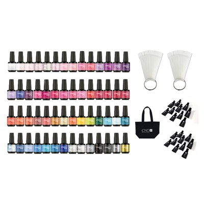 Gel Polish CPG Color Kit, 54 Colors