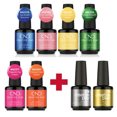 Bright Out CP Gel Polish Collection**