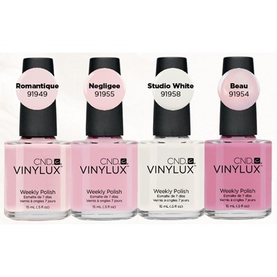 Vinylux Tres Sheer Collection**