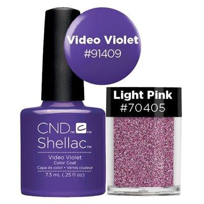 Shellac Violet Duo**