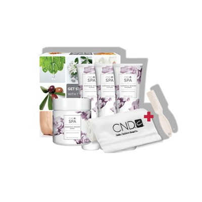 CND SPA Gardenia Woods  Manicure Kit**