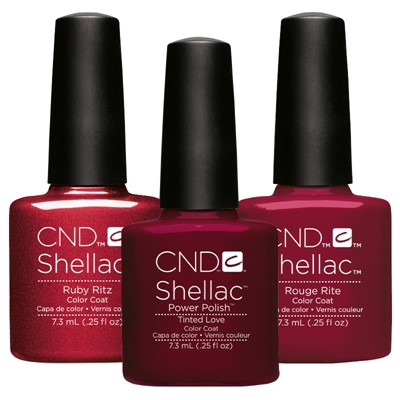 Shellac Christmas Trend Look**