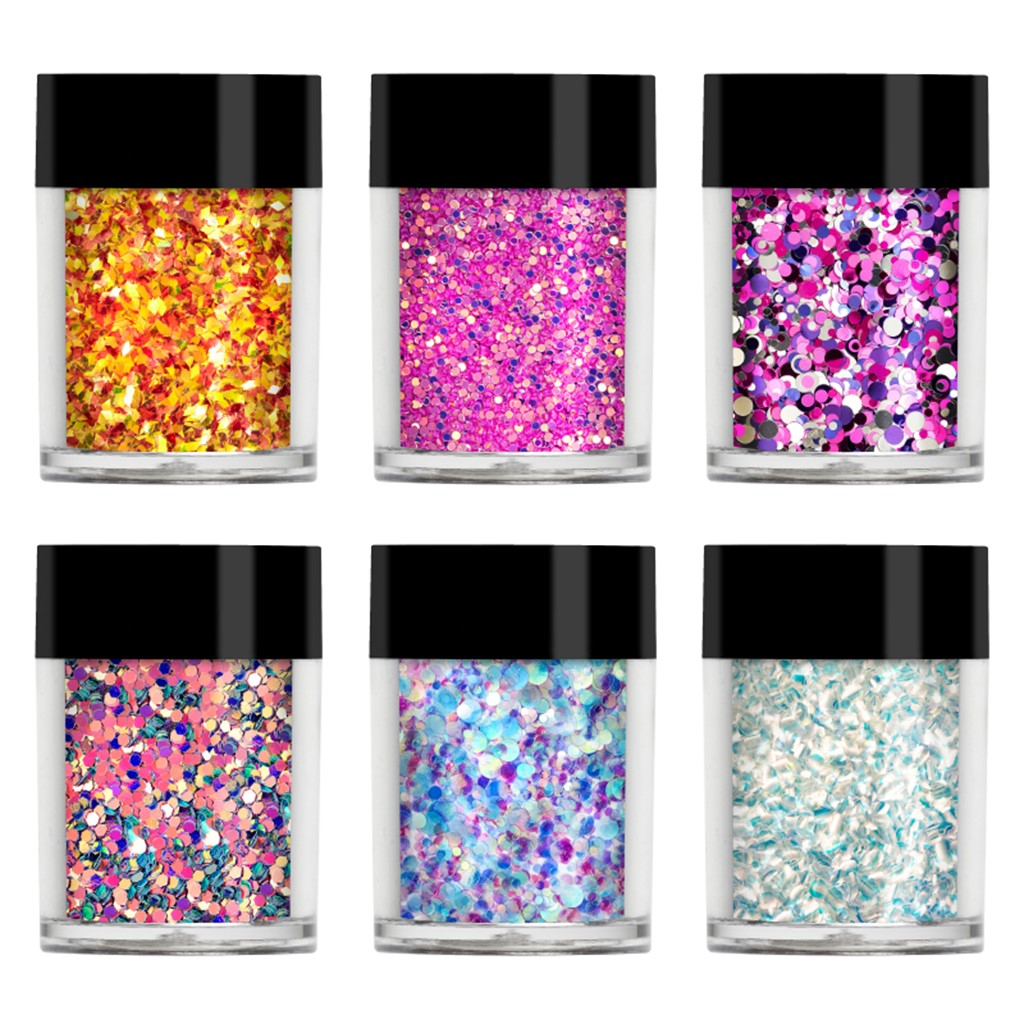 Lecenté Fall Chunky Glitter Collection**