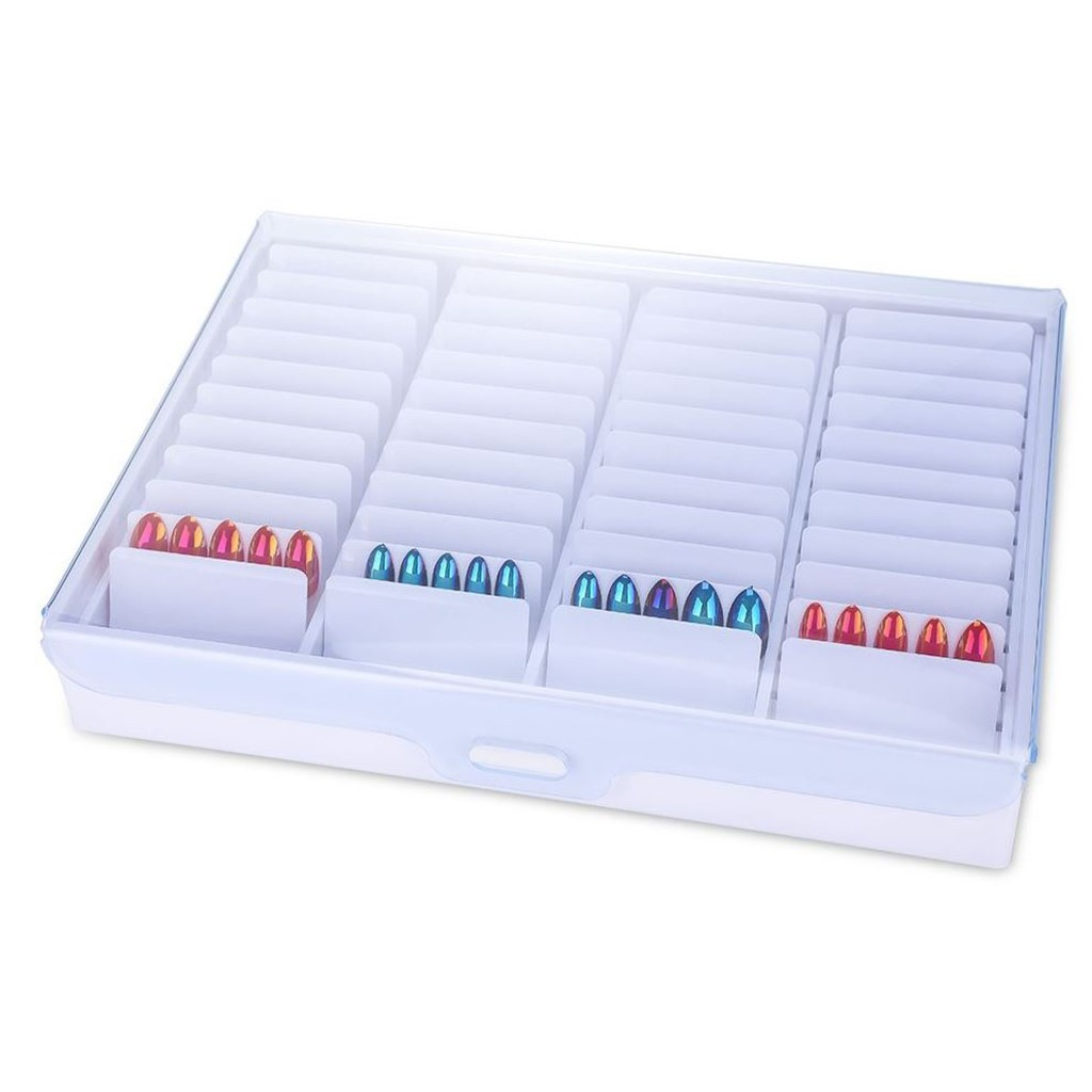 Show Case Box, white acrylic, NEW