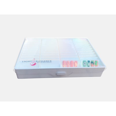 Show Case Box, white, Light Elegance