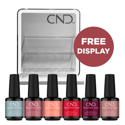 CPG Gel Kit w. free display
