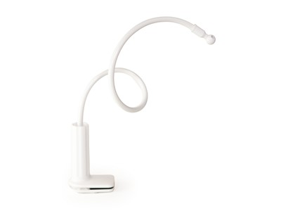 Hand Model Holder, Clamp Arm Fiction, White