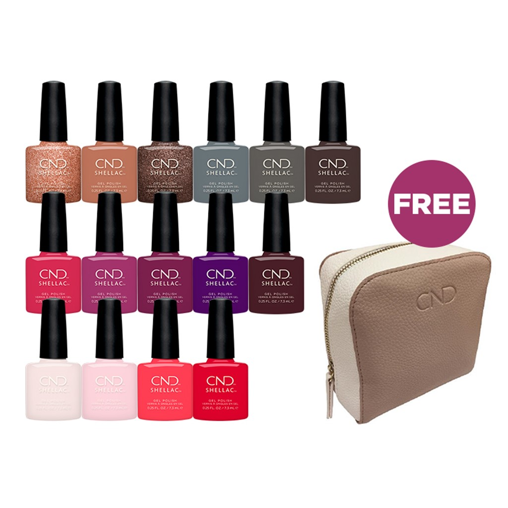 SHELLAC 15 new exclusive colors**