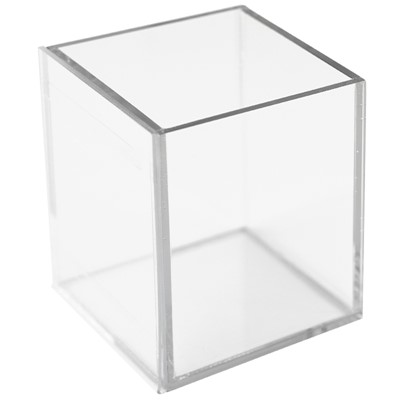 Cube, Clear w. communication front