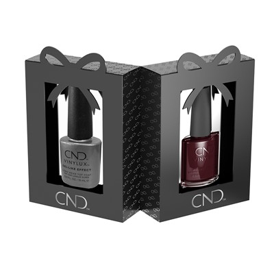 Vinylux Gift Black Cherry + Top Coat
