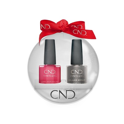 Vinylux Xmas Ball Wildfire + Top Coat