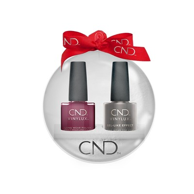 Vinylux Xmas Ball Decadence + Top Coat