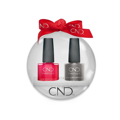 Vinylux Xmas Ball Element + Top Coat