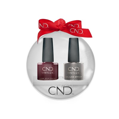 Vinylux Xmas Ball Black Cherry +Top Coat