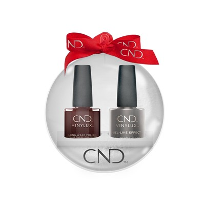 Vinylux Xmas Ball Fedora + Top Coat