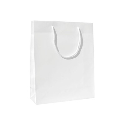 Paper Bag, Paper, White finish*