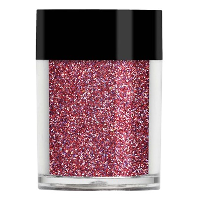 Holographic Glitter, Raspberry*