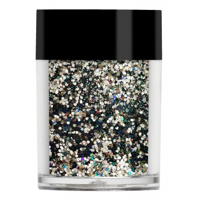 Multi Glitz Glitter, Black Gold**