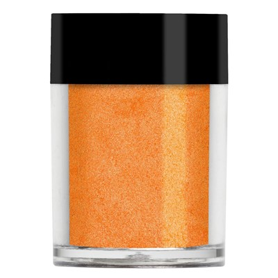 Nail Shadow Glitter, Papaya Orange