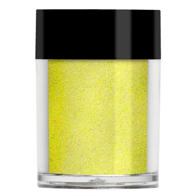 Nail Shadow Glitter, Lemon Yellow NEW