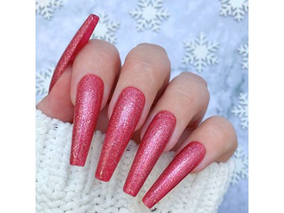 Pink Fizz Create Glitter Gel Polish