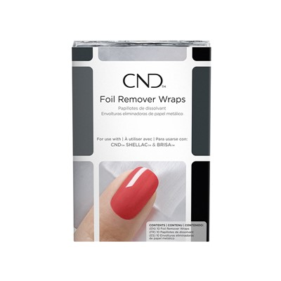 Remover Wraps Foil, CND NEW